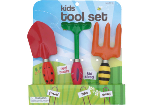 Children garden asia partners for Childrens gardening tools
